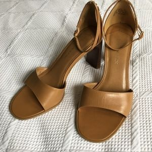 Enzo Angiolini ankle strap peep toes